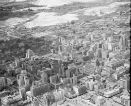 Johannesburg, 1946. Aerial view.