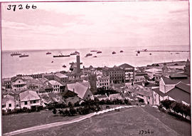 Port Elizabeth, 1925. Harbour view from the Donkin reserve.
