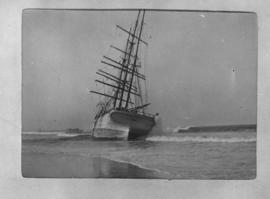 Port Elizabeth, 30 August and 1 September 1902. Aftermath of a storm in Algoa Bay.