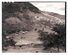 Transkei, 1940. Traditional huts.