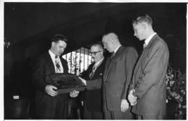Johannesburg, 5 November 1956. Official opening of the Railway Museum under the Rissik Street bri...