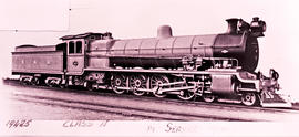 SAR Class 15 No 1563 built by North British Loco Works No's 20364-20373 in 1914.