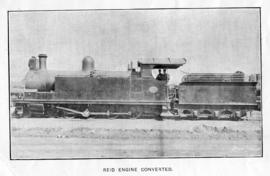 CSAR Class E converted, later SAR Class 13 No 1319. First to be converted by the CSAR from 4-10-2...