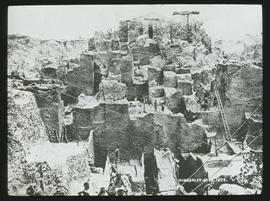 Kimberley, 1873. Diamond mine.