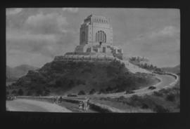 Pretoria. Artist's impression of Voortrekker Monument.