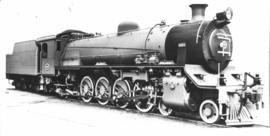 SAR Class 19A No 699 built by the Swiss Loco Works in 1929.