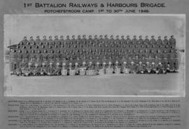 Potchefstroom, June 1948. SAR&H Brigade First Battalion.