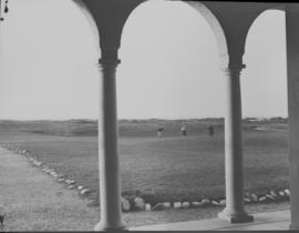 Port Elizabeth, 1932. View of Humewood golf course from clubhouse.