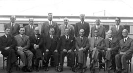 Johannesburg, 1948. Conference of catering managers and senior staff at Braamfontein.