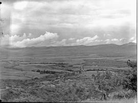 Vryheid district, 1947. Mountain view.