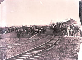 """Pretoria, 1 January 1893. First train to leave Pretoria."""