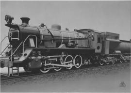 SAR Class S2 No 3702 built by Fried.Krupp Sohn 1952/3.