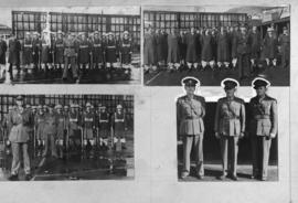 Cape Town, July 1945. Second Battalion Railways and Harbours Brigade bids farewell to Lt Col JA L...