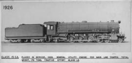 SAR Class 15CA No 2819 built by North British Loco in 1928/29.