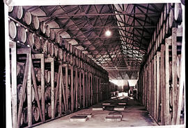 Paarl, 1939. KWV cellar, largest above ground cellar in the world.