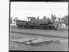 "NGR No 48 ""Havelock"".First locomotive built in SA. Shown here as converted to 4-6-2TT."