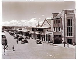 """Aliwal North, 1946. Main street."""
