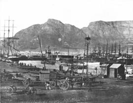 Cape Town. Table Bay Harbour.