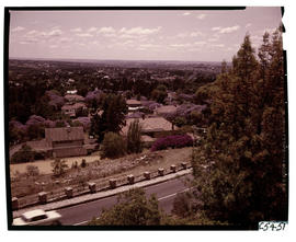 Johannesburg, 1963. Houghton viewed from Munro Drive.