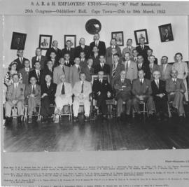 Cape Town, 17 to 19 March 1953. Congress of SAR&H Employees' Union, Group E Staff Association.