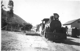 South-West Africa. Narrow gauge line. SAR Class NG15 with train.