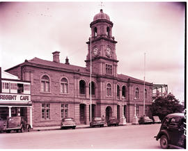 Queenstown, 1950. Town hall.