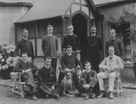 The clergy of the South African Church Railway Mission.