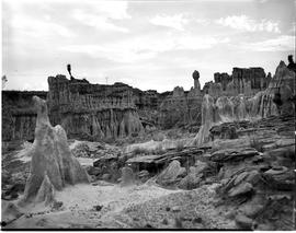 Vryheid district, 1952. Soil erosion.