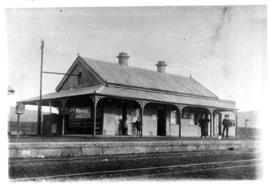 Bethesda Road, 1909. Station building.
