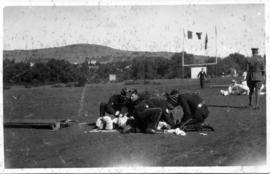 Pretoria. The first St John Ambulance 'First Aid' competitions. (Donated Mr GL Spruyt)