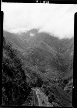 George district, 24 February 1947. Railway tunnel in Montagu Pass.