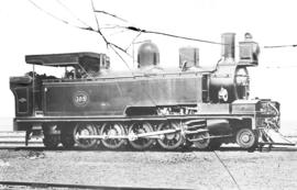 Locomotive No 105, later SAR Class A.
