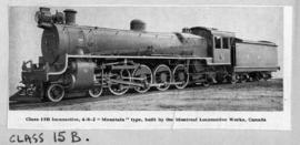 SAR Class 15B No 1838 built by Montreal Loco Works.