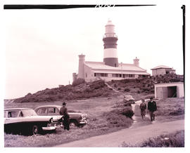 Cape Agulhas, 1961. Lighthouse.