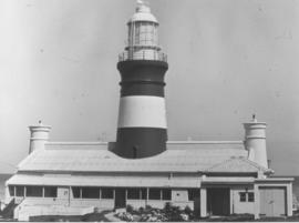 Cape Agulhas, August 1965. Lighthouse.