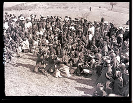 Transkei, 1932. Bomvaan people singing the Moho-ocho.