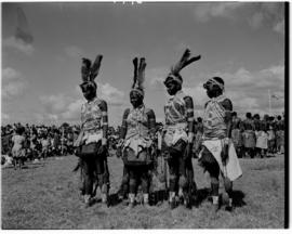 Vryheid, 24 March 1947. Traditionally dressed women.