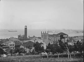 Port Elizabeth, 1930. View of harbour from Donkin Reserve.