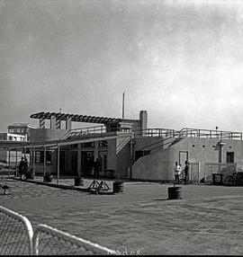 Johannesburg, 1935. Rand airport. Rand Flying Club clubhouse.