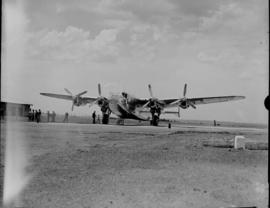 Circa 1945. Avro York on apron.