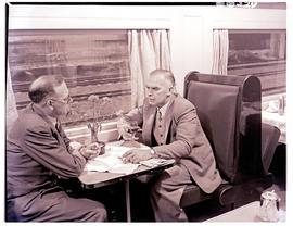 """1952. Blue Train dining car."""