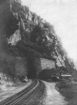 Waterval-Boven tunnel. Eastern portal.