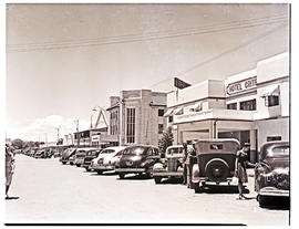 """Aliwal North, 1946. Shopping street."""