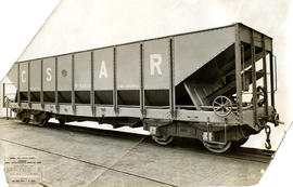 CSAR type J3 No 54500 high-sided coal hopper wagon later SAR type A-1.