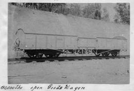 CSAR type H No 32295 low-sided goods wagon later SAR type B-12 (Souvenir album of a visit by Rand...