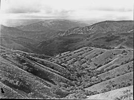 Vryheid district, 1947. Mountain view near Babanango.