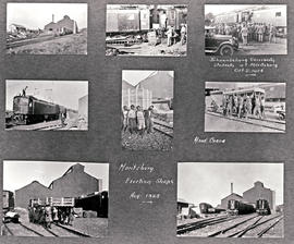 Pietermaritzburg, 1925. Collage of images taken at the erection shops. SEE P3007 no 7