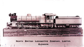 SAR Class 16C No 816, built by North British Loco Works No's 21708-21717 in 1919.
