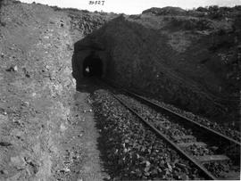 De Doorns, 1929. New tunnel at Triangle in Hex River pass.