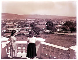 """Uitenhage, 1950. View from Cannon Hill."""